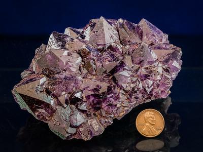 Amethyst (SiO2), Llano County, Texas
