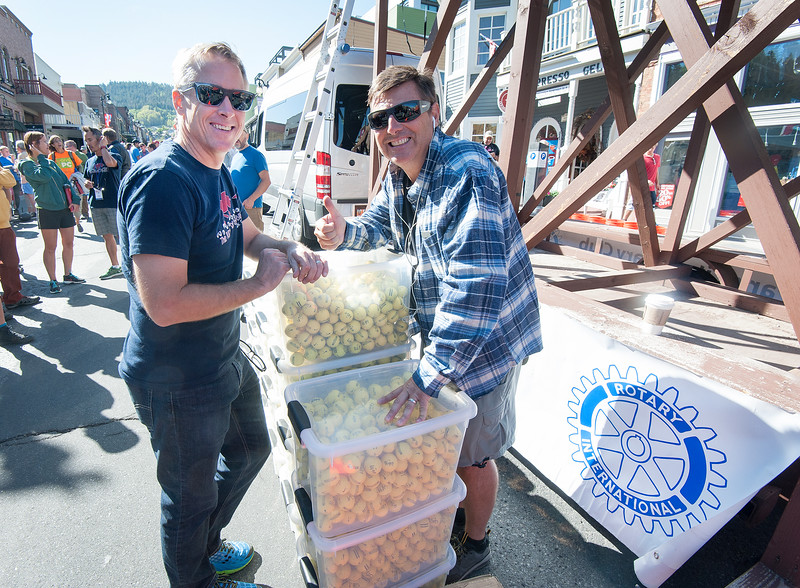 Running of the Balls - Park City Miners' Day 2016