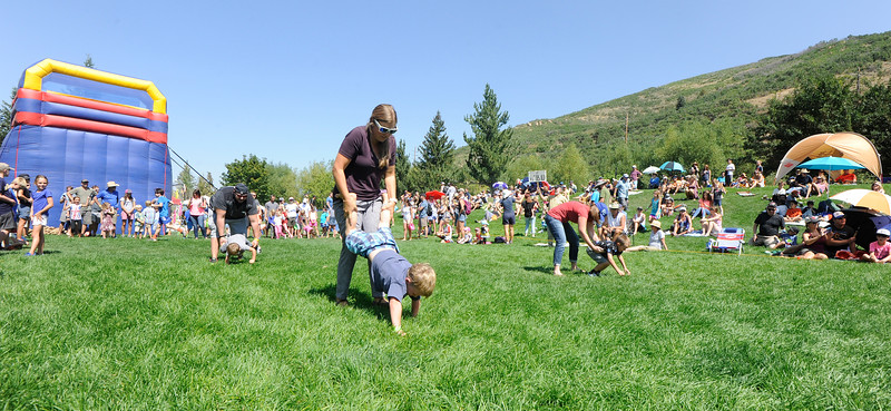 Fun in the Park on Miners' Day 2017