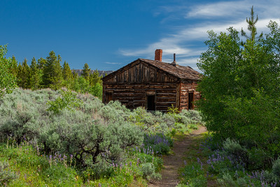 Town of Miner's Delight (Hamilton City), South Pass Area, Wyoming