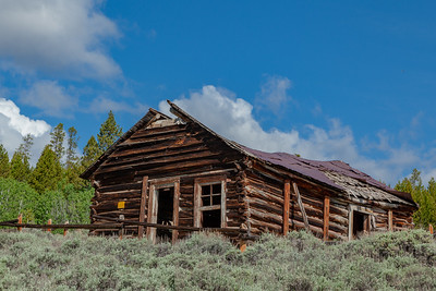 """""""Saloon,"""" Town of Miner's Delight (Hamilton City), South Pass Area, Wyoming"""