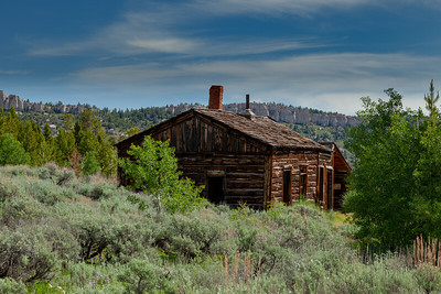 Bryant Cabin, Town of Miner's Delight (Hamilton City), South Pass Area, Wyoming