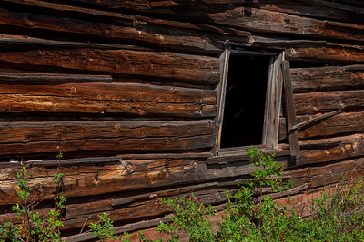 """""""Longtime Cabin,"""" Town of Miner's Delight (Hamilton City), South Pass Area, Wyoming"""
