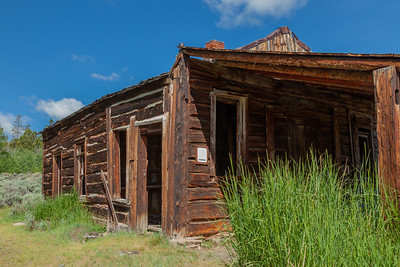 Bryant Cabin,Town of Miner's Delight (Hamilton City), South Pass Area, Wyoming