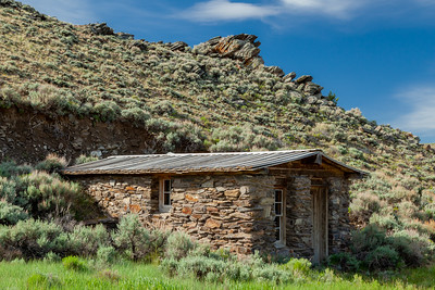 The Rock House, South Pass City, Wyoming