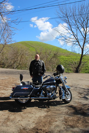 Mines Road Harley ride