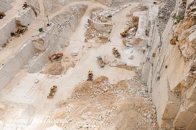 Carrara Marble quarries