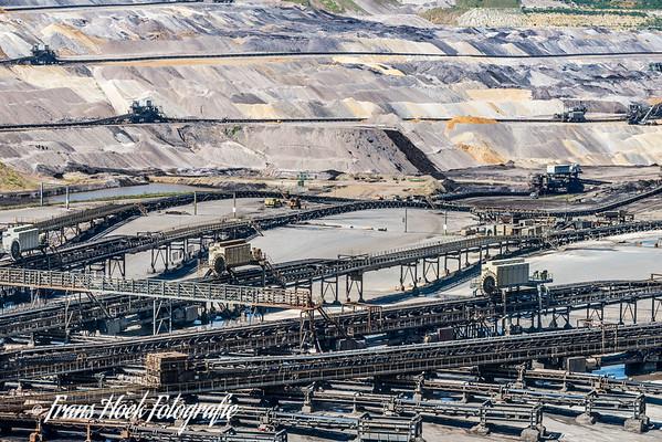Lignite mine / Bruinkoolmijn  Tagebau Inden
