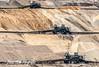 Lignite mine / B ruinkoolmijn Tagebau Inden