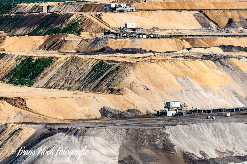 Lignite mine / B ruinkoolmijn Tagebau Garzweiler.
