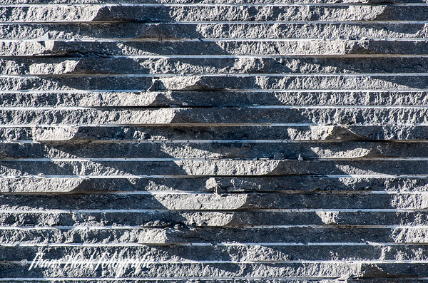 Blue Stone / Bleuwe steen. Carrières du Hainaut, Soignies, Belgique