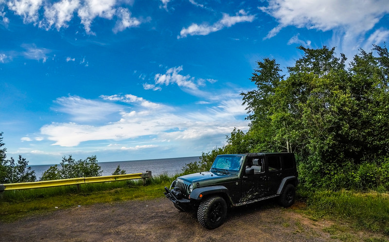 No adventure is complete without a Jeep shot :)