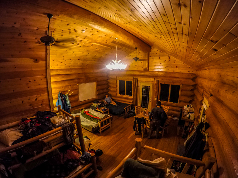 New cabin this year! Much bigger and nicer