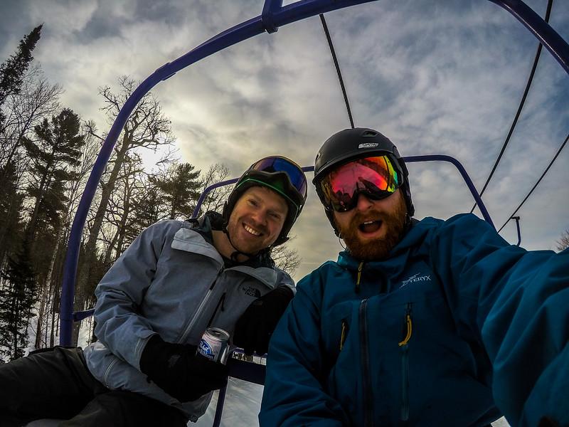 Wahooooo! Ski time!
