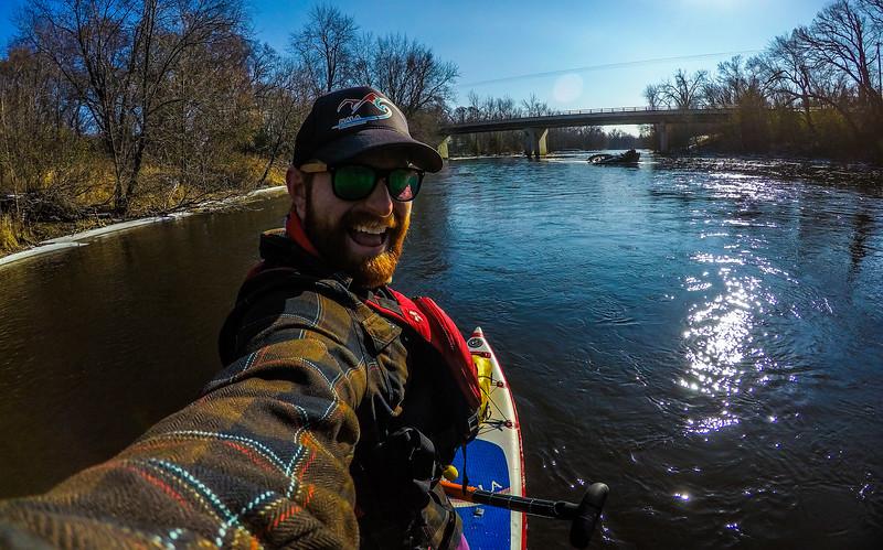Love winter paddles