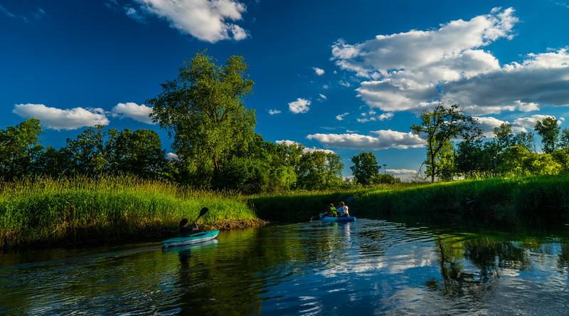 Love seeing others enjoying the creek