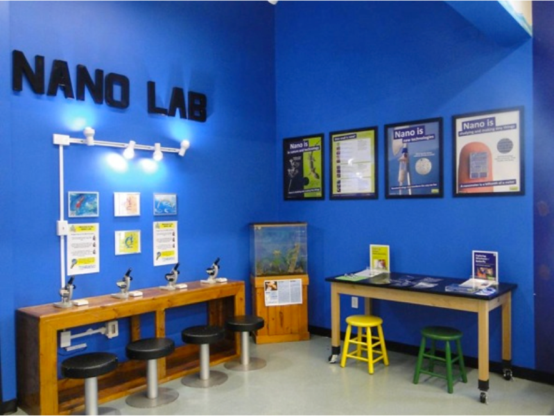 Imaginarium Hands-On Museum and Aquarium (Fort Meyers, FL) - Nano Lab Project (after)