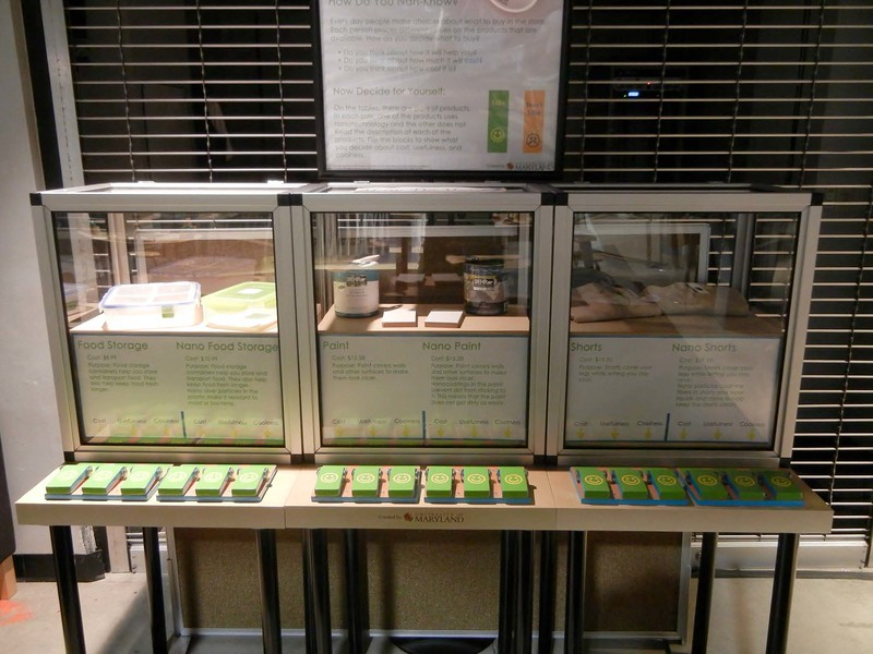 Port Discovery Children's Museum (Baltimore, MD) - Nano mini-exhibition expansion project