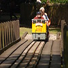 Loco <br /> <br /> 6602 <br /> <br /> enters the bridge next to the kids Playground on the right and the <br /> <br /> Duck pond on the left