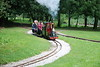 Steam Loco Galah approaches the curve that leads to the Playground <br /> <br /> loop