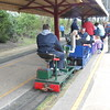 Pic by Liz <br /> <br /> Of the Lister Loco on the back of the train the Diesel was giving <br /> <br /> assistance around the loop from the back