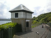 Signal box <br /> <br /> behind the signal box is the sea and promenade