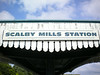 Scalby Mills destination at other end <br /> <br /> you get off here for the Sealife Centre or go straight back