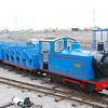 Steam loco Clara powered by a Diesel engine