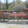 Pic by Liz <br /> <br /> This is the car - Park and showing the Loco in the platform