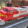 Pic by Liz <br /> <br /> Close up of the USA style Loco <br /> <br /> Which even has sound effects and a bell and a great horn
