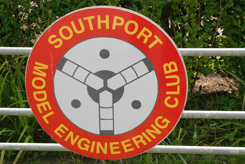 """Southport Model Engineering Club sign <br /> <br /> website here<br /> <br /> <a href=""""http://www.southportmodelengineers.org/"""">http://www.southportmodelengineers.org/</a>"""