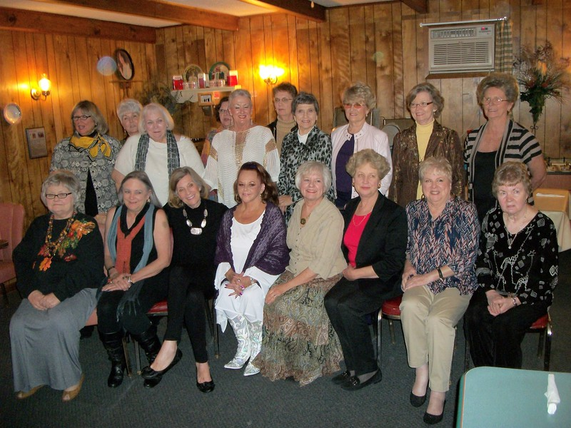 1 st Row – Donna Bush Carle, Judy Young Robinson, Kay Fincher Hyland, Dianne Robin Williams, Kathe Morgan Miller, Mary Ellen Rothe Moore, Louis Long Johnson, Carolyn Bell Stansbury<br /> <br /> 2 nd Row – Sharon Herring Bernard, Gail Duke Peppers, Linda John Lewis Regan, Carol Lybarger Carrick, Rachel Miller Newman, Nancy Ables Johnson, Carol Sue Bomar Rodgers, Hannah Wheelis Park, Betty Reynolds Rogers, Phoebe Estes Sellers