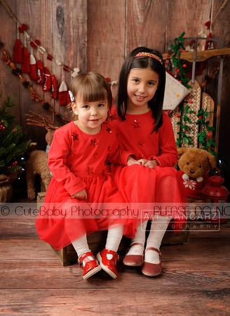 Sophie & Lilly Christmas Mini