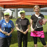 Robyn and Janet Ballinger and Stacey Croley of USTA-KY.