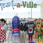 The League of Mascots!