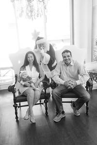 Isla meets Santa