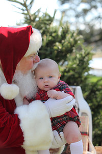 Luke meets Santa