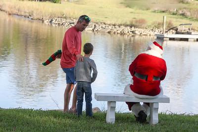 Mason meets Santa
