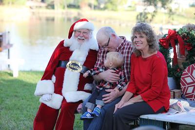 Obadiah meets Santa