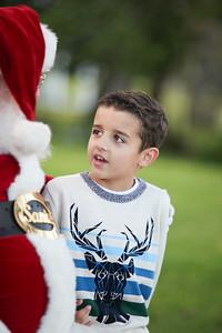 Owen's Santa Portraits