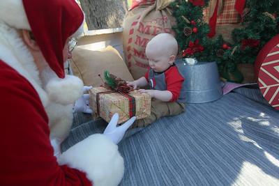 Zeke Meets Santa