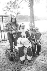 Grayson & Hudson meet Santa