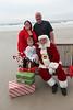 Aiden, Laila and Santa