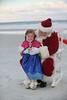 Arabella meets Santa