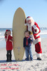 Ashton and Zoe meet Santa