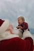 Beau meets Santa