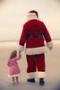 Emma meets Santa
