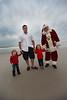 Liam and Piper meet Santa Clause