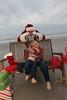 Max and Miles meet Santa!