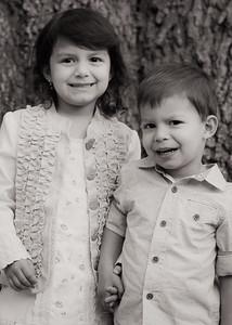 Landon and Gabriella's Spring Portraits